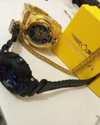 Relógios Invicta & G shock