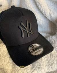 Bone New Era Yankees Destroyed
