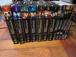 Box série Supernatural com 12 temporadas