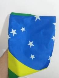 Bandeira do Brasil poliéster 1,5 x 0,90 m