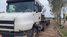 Scania 124 T com bitrem Rondôn