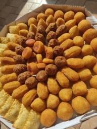 Título do anúncio: 100 salgadinhos fritos mistos 43 00
