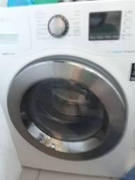 Lavadora e secadora da Samsung.
