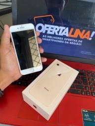 Iphone 8 256gb - ACEITO CARTÃO
