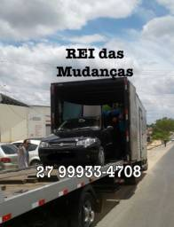 Caminhão Rei das Mudanças para todo o Brasil