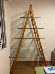 Estante - Escada - Muito Nova
