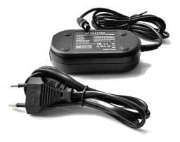 Fonte Adaptador Energia Ac-pw20 Sony A6000 A6300 A6500 F12