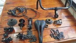 Peças Variadas de Bicicleta , preços a negociar !