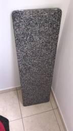 Balcão de mármore 100x30 cm