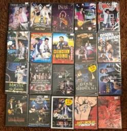 DVD s musicais diversos 10,00
