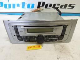 Toca Cd Fiat Punto / Linea Com Mp3 Usb Cor Prata - Original