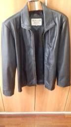 Jaqueta de couro legítimo da Argentina
