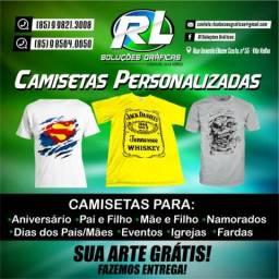 Camisetas Personalizadas!!!