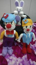 Circo bonecos 30 cm. feltro