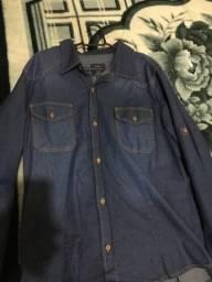 Camisão jeans masculino novinho