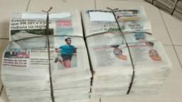 Jornal Novo e Limpo para qualquer finalidade