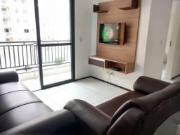 2 quartos com ar, mobiliado com internet no Grand Park - prox Calhau e Cohama
