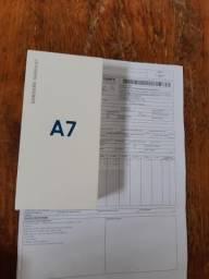 Vêndo sansung A7 novo 128 Gb