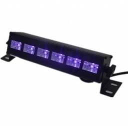 Barra Luz Negra 6 Led UV