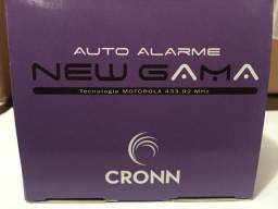 Alarme cronn novo na embalagem garantia instalado na hora em seu carro na hora