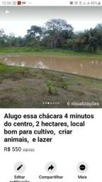 Vendo ou alugo chácara 4 minutos do centro 500 reais *