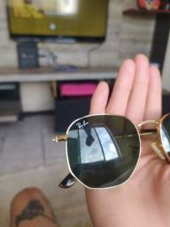 Rayban hexagonal flat lenses
