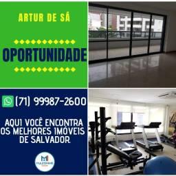 Oportunidade Mansão Artur de Sá, 4 quartos com suítes em 138m² na Pituba