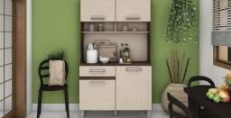 Kit Cozinha Compacta Tampo 4 Portas