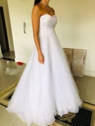 Lindo Vestido de Noiva Ajustável