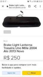 Lanterna traseira do Fiat Uno