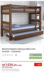 Treliche (Beliche com cama auxiliar)