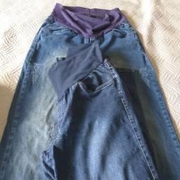 Vendo 2 calças gestante tamanho G