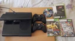 Xbox 360 semi novo + kinect