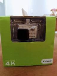 Vendo câmera mirage 4k com cartão de memória