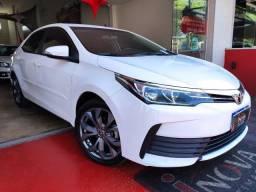 Toyota Corolla Gli 1.8 CVT 2018 Baixo Km Imperdivel Financia 100%