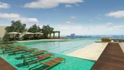 Cobertura 5 quartos, 5 vagas, 2 piscinas com deck 444m² linda vista para o mar - Farol