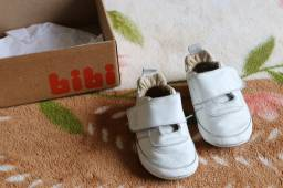 Tênis Infantil Bibi (couro original) Branco