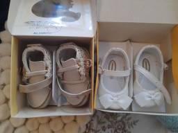 Sapatos bebê infantil menina