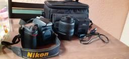 Câmera Profissional Nikon D7000 completa