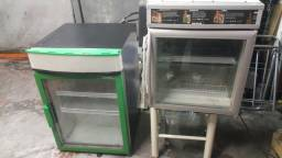 Mini expositora frigonar porta de vidro p seu studio barbeiro faturar $