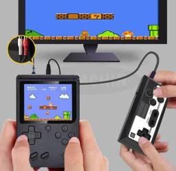 Mini Vídeo Game Portátil 400 Jogos Retro C/ Controle 8 Bit