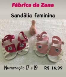 Sandália bebê feminina
