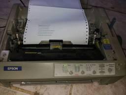 Impressora Matricial Epson FX890<br>Imprimindo.<br>Acompanha papel, fita e cabos