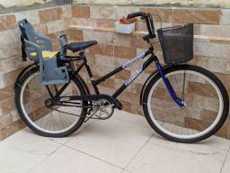 Bicicleta Poti com cadeirinha.