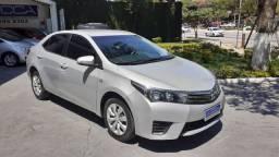 Corolla GLI 1.8 Automático CVT 2016 Prata Flex Completo