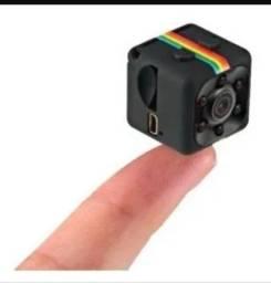 Câmera Espião Sq11 Full Hd Visão Noturna Espionagem Led Ir