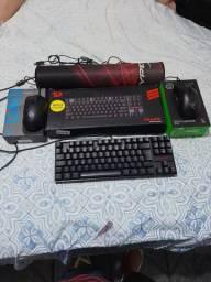 Teclado,mouse, mouse pad