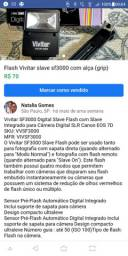 Flash Virar viv sf3000 com alça (grip)
