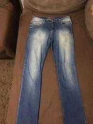 Calça jeans opção