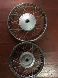 Roda Diant/Traseira Completa C100/125/POP Biz Honda Fabrek